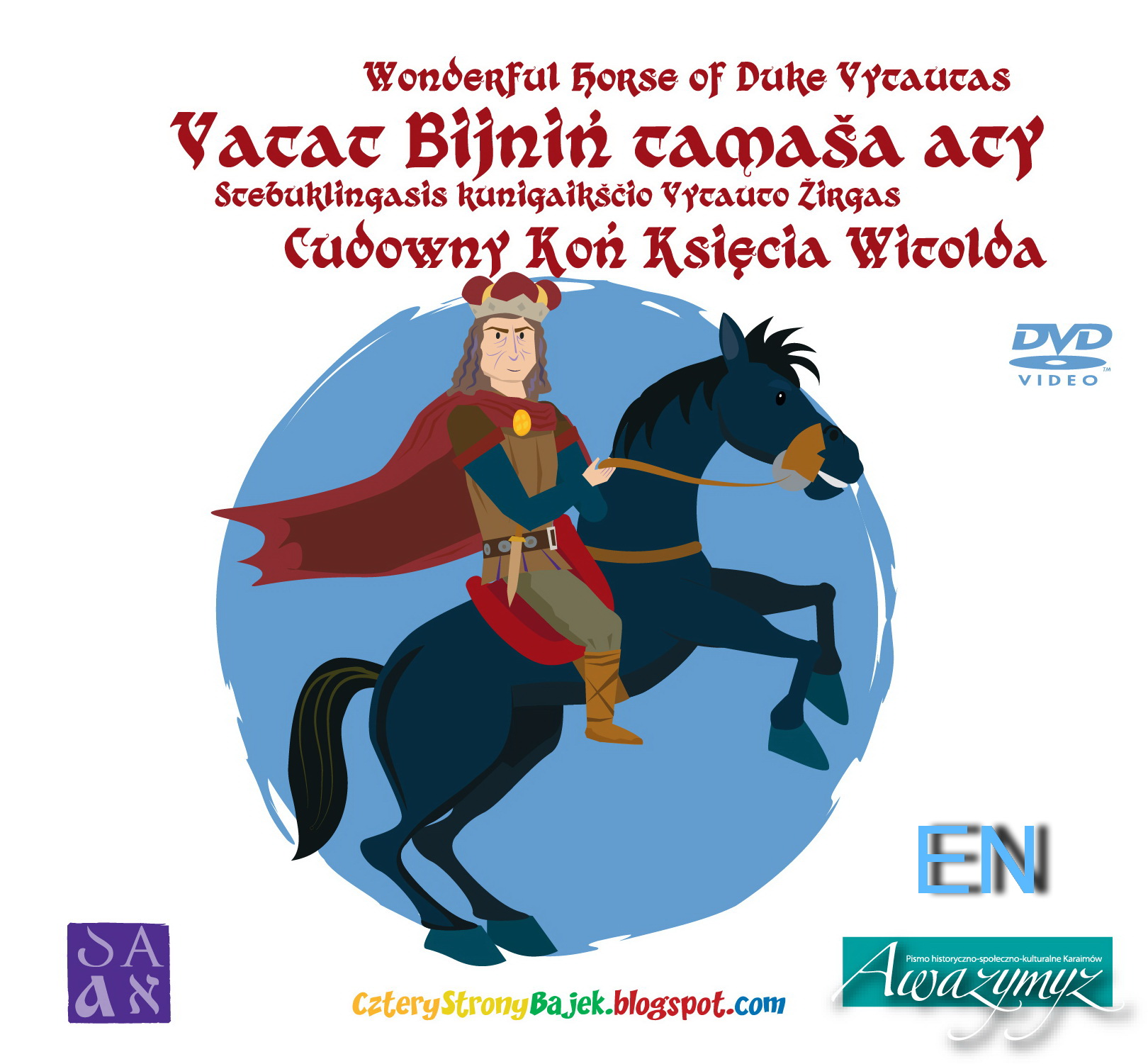 Wonderful horse of Duke Vitautas